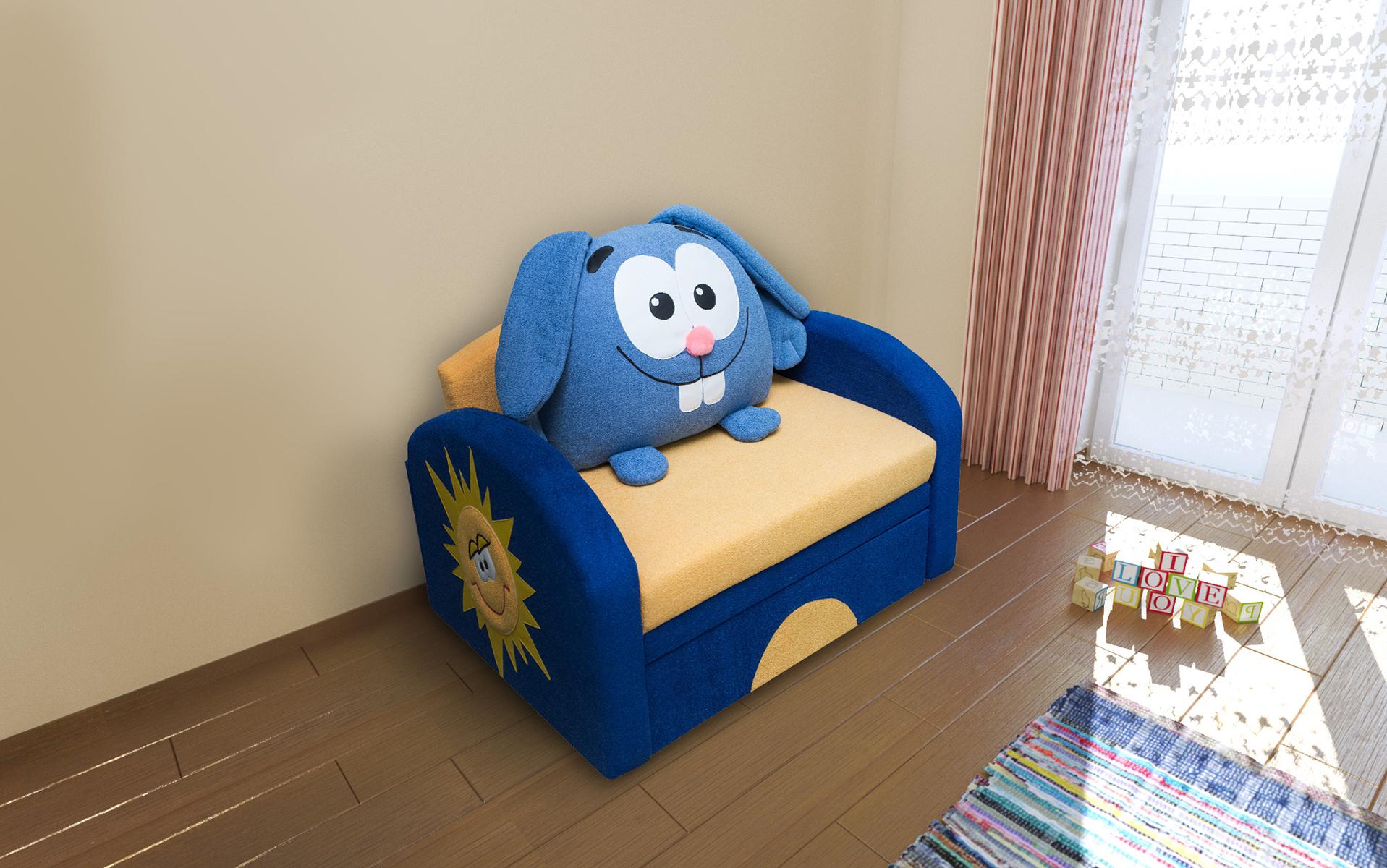 Ушастик диван детский  дешево в Новосибирске — интернет-магазин мебели